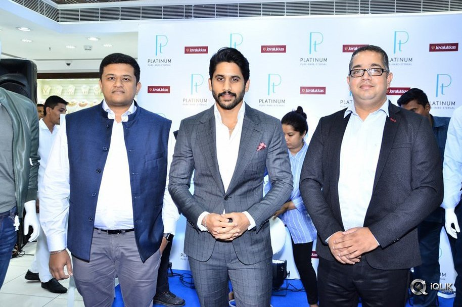 Naga Chaitanya Launches Mens Jewellery at Joyalukkas