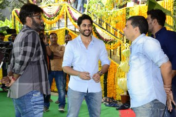 Naga-Chaitanya-and-Maruthi-Movie-Opening