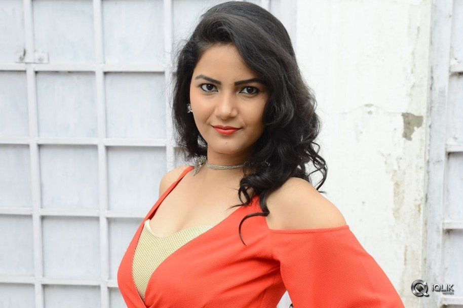 Nandhini-At-Prabhas-Movie-Opening