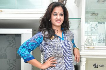 Nanditha at Krishnamma Kalipindi Iddarini Press Meet