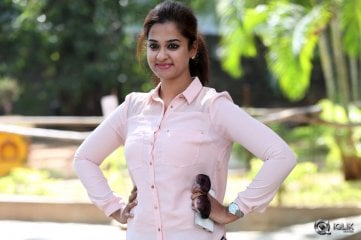 Nanditha at Shankarabharanam Movie Release Press Meet