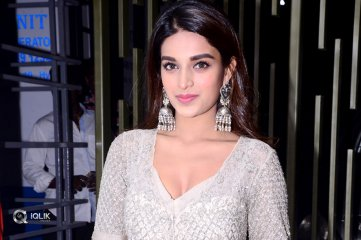 Nidhhi Agerwal at Savyasachi Movie Pre Release Event