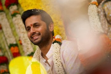 Nithiin Engagement Stills