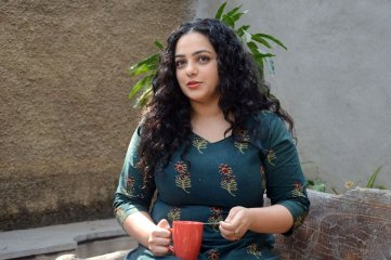 Nithya Menen at Awe Movie Press Meet