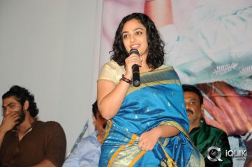 Nithya Menen at Malini 22 Audio Launch Gallery