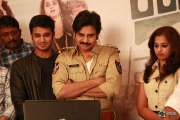 Pawan Kalyan Launches Shankarabharanam Movie Teaser