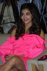 Pooja Hegde at Ala Vaikunthapurramloo Movie Thanks Meet