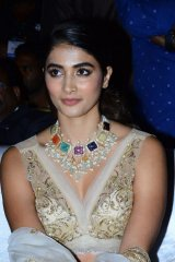Pooja Hegde at Maharshi Movie Pre Release Event