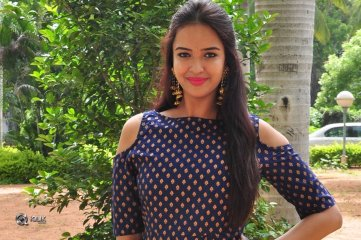 Poojitha Ponnada At Darshakudu Movie Press Meet