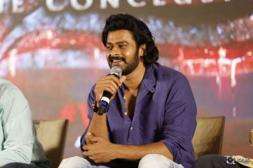 Prabhas At Baahubali 2 Movie Logo Launch