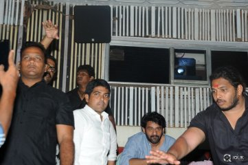 Prabhas Watches Baahubali at Sudharshan Theatre