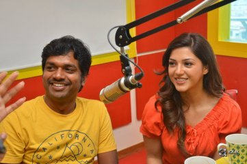 Raja The Great Movie Team At Radio Mirchi