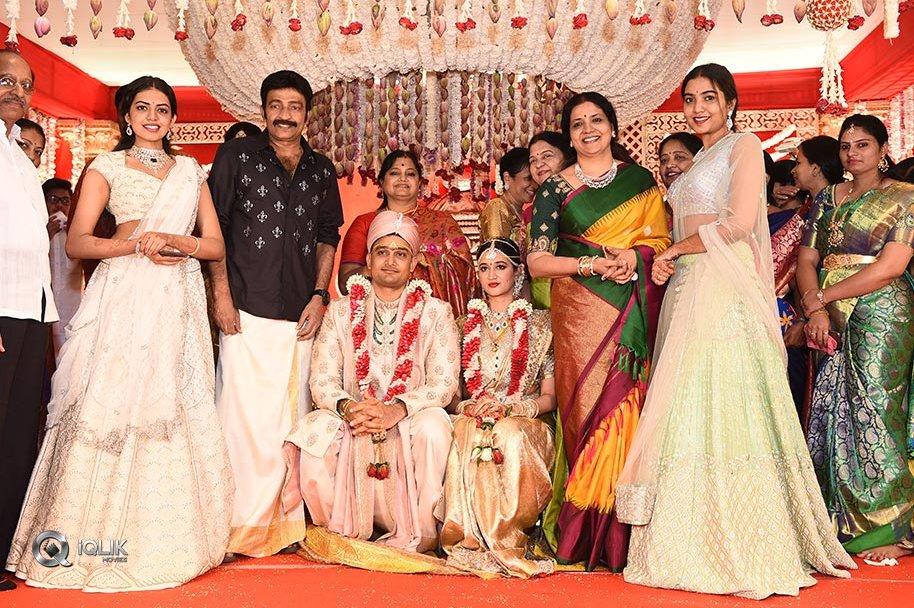 Rajasekhar-Nephew-Karthiks-Wedding-Photos