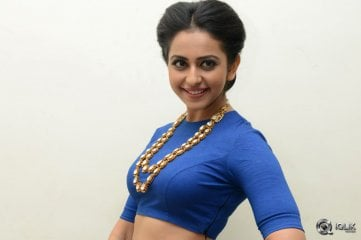Rakul Preet Singh at Nannaku Prematho Movie Audio Launch