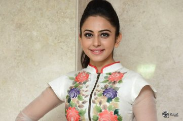 Rakul Preet Singh at Nannaku Prematho Movie Grand Success Meet