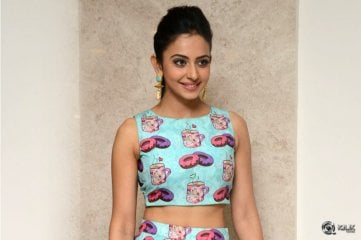 Rakul Preet Singh at Pandaga Chesko Grand Success Meet