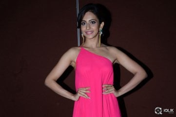 Rakul Preet Singh at Pandaga Chesko Movie Audio Launch