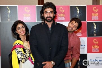 Rana-Arya-and-Shriya-Announce-SIIMA-in-UAE