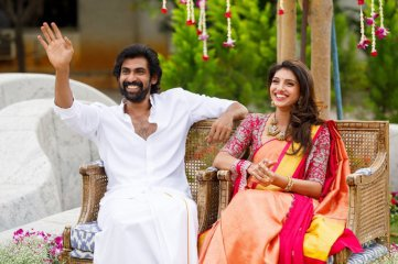 Rana Daggubati and Miheeka Bajaj Engagement Pics