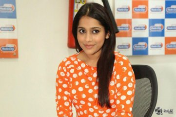 Rashmi Gautam at Guntur Talkies Movie Promotions