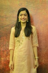 Rashmika Mandana at Sarileru Neekevvaru Movie Opening