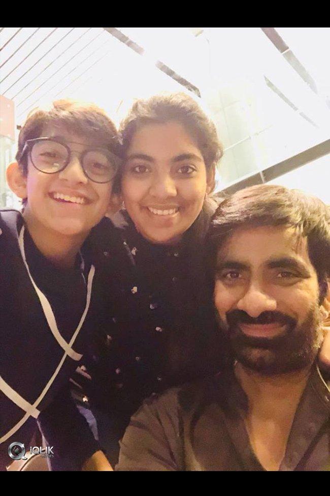Ravi Teja Family Vacation Photos