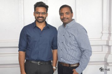 Sai-DharamTej-And-Karunakaran-Movie-Launch