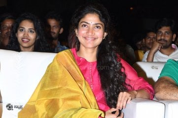 Sai Pallavi At Fidaa Movie Sambaralu