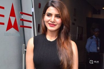 Samantha At Raju Gari Gadhi 2 Movie Success Meet
