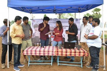 Samantha Launches Darshakudu Movie Sunday to Saturday Love Song