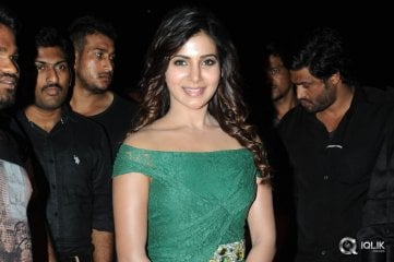 Samantha-at-Sikindar-Movie-Audio-Launch