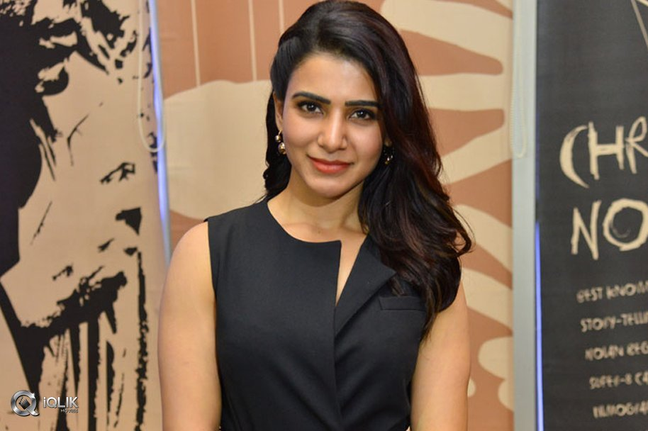 Samantha at U Turn Movie Trailer Launch