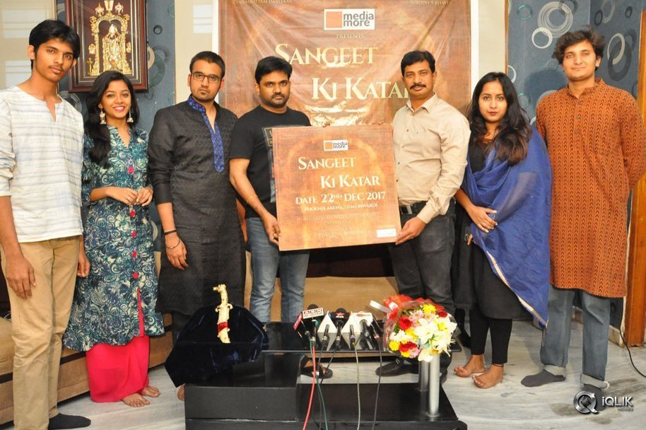 Sangeet Ki Katar a Theatre Play Poster launch by Director Maruthi