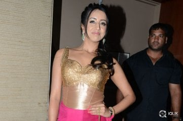 Sanjjanaa at Sardaar Gabbar Singh Movie Audio Launch