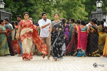 Shailaja Reddy Alludu Movie Working Stills