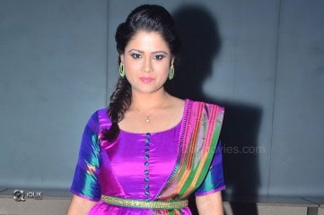 Shilpa Chakravarthy At Arjun Reddy Movie Pre Release Function