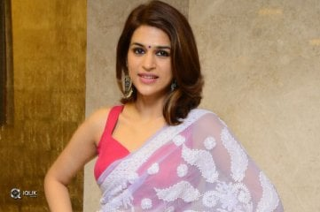 Shraddha Das At PSV Garuda Vega Movie Pre Release Function