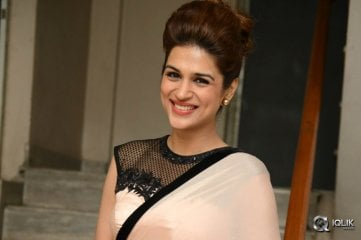 Shraddha Das at Guntur Talkies Movie Trailer Launch
