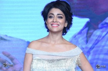 Shriya Saran At Nakshatram Movie Audio Launch