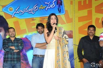 Subramanyam For Sale Movie Press Meet
