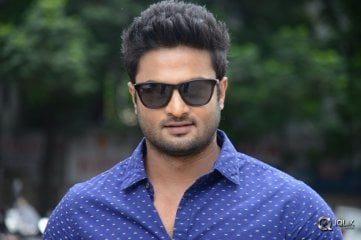 Sudheer Babu at Krishnamma Kalipindi Iddarini Special Show Press Meet