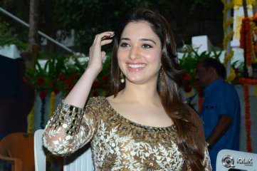 Tamannaah at Bengal Tiger Movie Opening