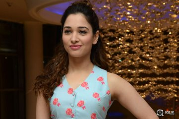 Tamannaah at Bengal Tiger Movie Success Meet