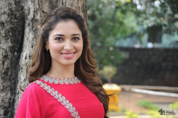 Tamannah at Bengal Tiger Movie Press Meet