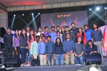 Tholiprema Team at VNR College