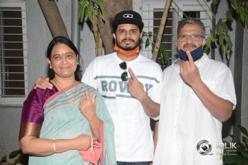 Tollywood Celebrities at GHMC Elections
