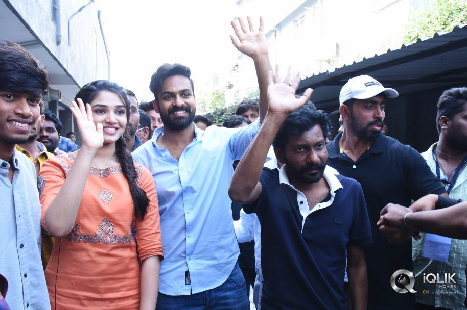 Uppena Movie Success Tour Photos