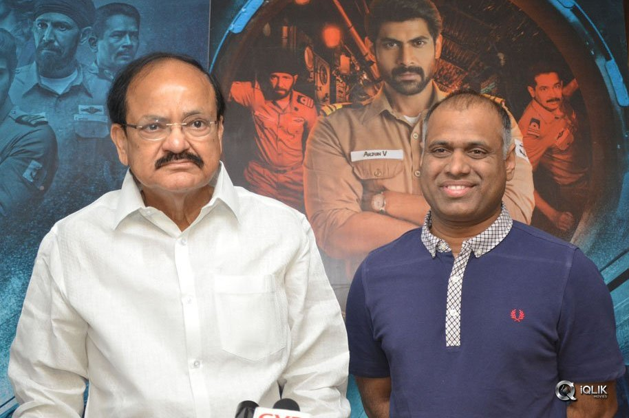 Venkaiah-Naidu-Watch-Ghazi-Movie-At-Prasad-Labs