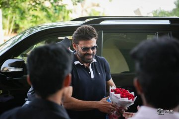 Venkatesh Guru Movie Promotions At BITS Hyderabad Campus