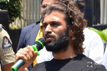 Vijay Devarakonda Launches Face Protection Shields